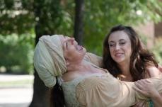 Molly Lyons as Nurse and Ashlee Edgemon as Juliet