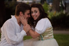 Brian Scannell as Romeo and Ashlee Edgemon as Juliet