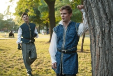 John Ham as Benvolio and Brian Scannell as Romeo