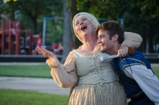 Molly Lyons as Nurse and Brian Scannell as Romeo