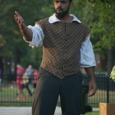Martel Manning as Benedick
