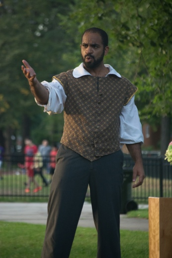Martel Manning as Benedick