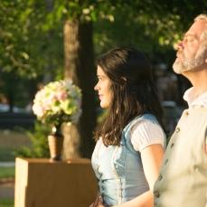 Vivian Knouse as Hero and Scott Olson as Leonato