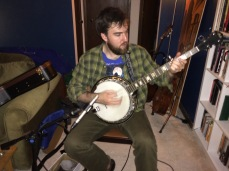 Alex Mauney on banjo