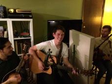 Ian Michael Minh on guitar