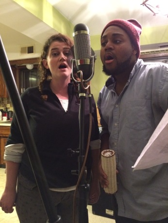 Elizabeth Rentfro and Trey Wright singing those gorgeous harmonies