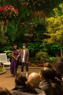 Kanome Jones as Olivia and Jake Jones as Sebastian