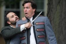 Joe Sergio (Laertes), Jared Dennis (Claudius)