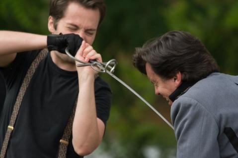 Sam Cheeseman (Hamlet), Jared Dennis (Claudius)